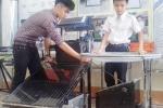 Học sinh Nghệ An dùng năng lượng mặt trời chưng cất nước ngọt