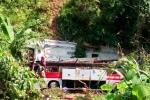 Tạm giữ tài xế xe khách giường nằm lao xuống vực khiến 4 người chết ở Cao Bằng
