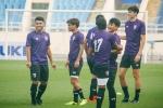 U23 Thái Lan thoải mái cười đùa trong buổi tập duy nhất tại Việt Nam