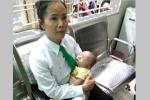 Bé trai 2 tháng tuổi bị mẹ bỏ rơi trên xe taxi ở Sài Gòn