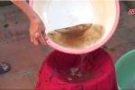 Video: Kinh hãi nước ăn đóng cặn vàng như gạch cua ở Hà Nội