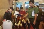 Hà Nội: Kinh hãi với lượng rượu khổng lồ không rõ nguồn gốc bị thu hồi