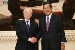 Toan canh chuyen tham Campuchia cua Tong Bi thu, Chu tich nuoc Nguyen Phu Trong hinh anh 12