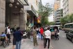 Người đàn ông ngoại quốc rơi từ tầng 5 khách sạn xuống đường