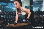 Hot girl ĐH Phòng cháy chữa cháy nóng bỏng trong phòng tập gym