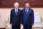 Toan canh chuyen tham Campuchia cua Tong Bi thu, Chu tich nuoc Nguyen Phu Trong hinh anh 10