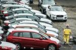 Việt Nam nhập khẩu 1 chiếc ôtô con trong dịp Tết Nguyên đán