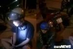 Hiệp sĩ bắt gọn 2 thanh niên dùng dao cướp túi xách, xe máy của phụ nữ