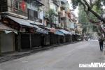 Ảnh: Phố phường Hà Nội vắng vẻ sáng mùng 1 Tết nguyên đán