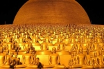 Ngôi chùa tràn ngập tượng mạ vàng của sư Thái Lan bị truy nã