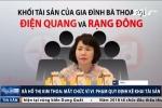 Bà Hồ Thị Kim Thoa mất chức vì kê khai không đúng, không đủ