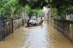 Mưa lớn khắp miền Trung, Hà Tĩnh nguy cơ ngập lụt