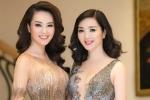 Hoa hậu Giáng My, Á hậu Thuỵ Vân đua nhau hở bạo, đọ vẻ sexy