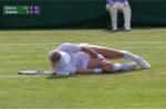 Video: Chấn thương khủng khiếp trên sân đấu Wimbledon, tay vợt nữ gào thét kêu cứu