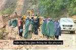 Bùn ập xuống, cuốn phăng người và nhà cửa ở Lai Châu