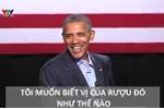 Những câu nói đùa kinh điển của ông Obama