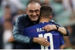 HLV Sarri: 'Rất buồn vì Hazard chia tay Chelsea'