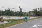 Bão số 2 càn quét Hà Tĩnh: Cột điện bị quật đổ, trường học tốc mái