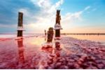 Vẻ đẹp ma quái của mỏ muối hoang Crưm