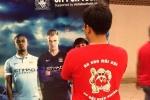 Fan Man Utd đi xem Man City trổ tài ở Mỹ Đình