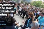 Trang chủ Man City tung clip fan Việt phát cuồng vì Joe Hart và Kolarov