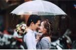 Bộ ảnh cưới dưới mưa khiến dân mạng thổn thức