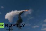 Video: Tàu chiến mới nhất của Nga bắn thử nghiệm tên lửa trên biển Baltic