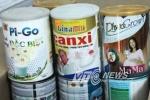 Đột kích lò sản xuất sữa bột có nguồn gốc Trung Quốc