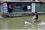 Chùm ảnh đi xe đạp qua sông