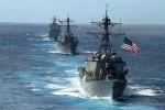 Chiến hạm tên lửa Mỹ 'rình rập' Syria