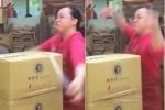 Há hốc mồm với 'kungfu' gói hàng của nữ cao thủ trong clip