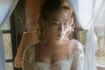Mỹ Tâm diện đầm cưới gợi cảm hút mắt