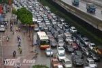 Tắc đường khủng khiếp ở Hà Nội: Đề xuất rút giấy phép công trường thi công