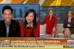 SV Việt cầu hôn siêu lãng mạn lên truyền hình CNN