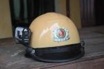 CSGT Thanh Hóa gắn camera lên mũ bảo hiểm