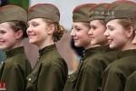 Đọ nhan sắc nữ binh sĩ quân đội các nước trên thế giới