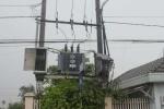 TP.HCM: Nổ lớn trạm biến áp trong cơn mưa
