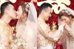Lương Thế Thành – Thúy Diễm trao nhau nụ hôn ngọt ngào trong ngày cưới
