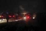 Máy bay Nga lao xuống kho đạn dược quân đội