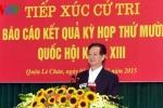 Thủ tướng Nguyễn Tấn Dũng tiếp xúc cử tri TP Hải Phòng