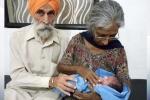Khó tin: Cụ bà 72 tuổi sinh con trai đầu lòng