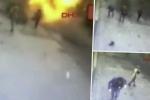 Clip: Kinh hoàng khoảnh khắc kẻ đánh bom tự sát nổ tung tại Istanbul