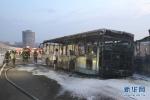 Ảnh: Xe buýt cháy đen, 47 người thiệt mạng