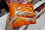 Mỳ gói Đài Loan nhiễm chì, thạch tín, thủy ngân