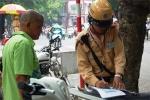 Rút dự thảo nộp phạt trực tiếp cho CSGT