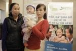 Phẫu thuật miễn phí cho trẻ em nghèo bị dị tật