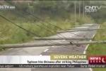 Kinh hoàng xe lật, cột điện đổ hàng loạt trong siêu bão Goni ở Nhật Bản