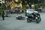 Cướp gây tai nạn kinh hoàng trên đường chạy trốn