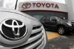 Lợi nhuận của hãng sản xuất ôtô Toyota giảm mạnh