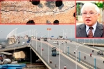 Nứt trụ cầu Vĩnh Tuy: Rất nguy hiểm nếu nứt sâu, gỉ sắt